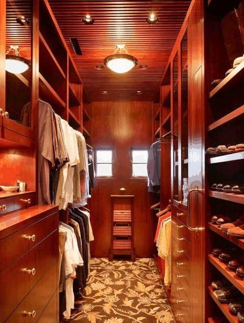 cabine armadio in legno su misura lugano