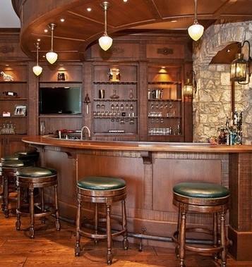 Angoli bar per casa for Arredamento angolo bar