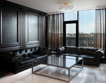 boiserie color nero