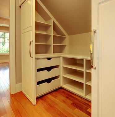 cabina armadio mansarda