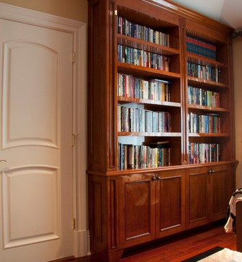 Libreria con porta milano arredo milano classico - Libreria divisoria con porta ...