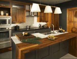 Cucine in legno su misura Roma