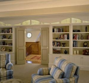 Librerie in legno roma for Librerie bianche