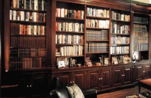 Librerie in legno roma for Arredamento studio professionale