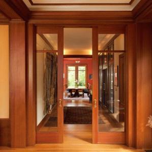 Portoni in legno - Porta interna vetro ...