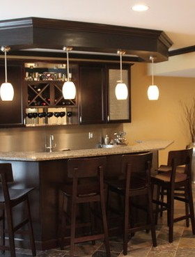 Mobili Bar Moderni Per Casa. Finest Angolo Bar In Casa Moderno Con ...